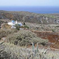 Agia Kyriaki und die Westseite