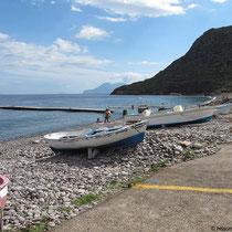 Strand für Boote...