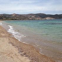 Der Strand bei Agios Nikolaos