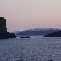 Ia hinter den Kameni-Inseln