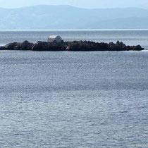 Die Insel Agios Ioannis