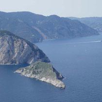 ... und vorgelagerter Insel