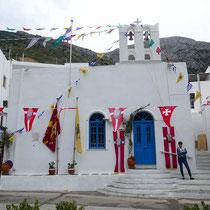 Hauptkirche in Kamares, Agios Georgios