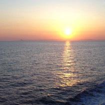Sonnenuntergang bei kythnos