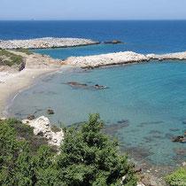 Strand am Kap Drakanos