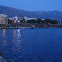Blick zur Festung und dem Hotel