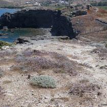 Blick auf die Ausgrabung von Filakopi