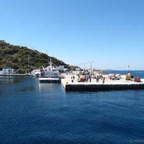 Mandraki - der Hafen