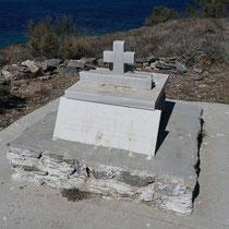 Das Grab ...