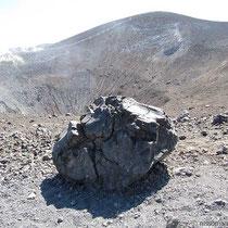 Bombe - dahinter der Gipfel