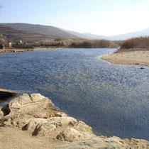 Tinos: Flussarm bei Kolymbithra