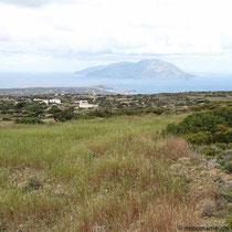 Blick nach Westen bei Agios Mamas