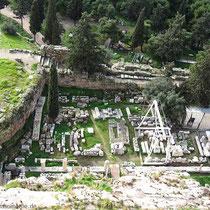 Ausgrabungen am Dionysos-Theater