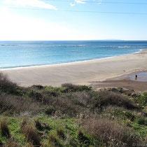 Der Strand am Kastell