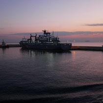 Hafenausfahrt