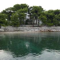 Die Halbinsel Bourtzi