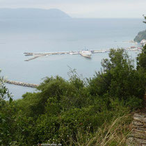 Der Hafen von Loutraki
