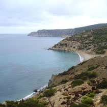 Gavdos: Die Bucht von Korfos
