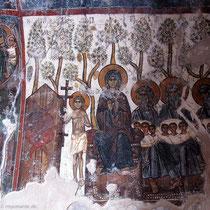 Maria und die Patriachen, mit Seelen im Schoß....
