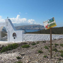 Osteingang zum Kloster