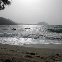 Am Strand in Egiali