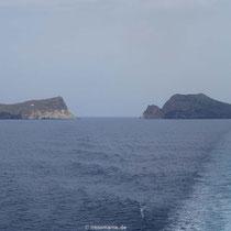 Die Akradia-Felsen