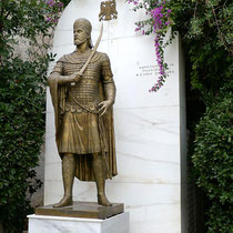 Statue des konstantinos XI Palaiologos