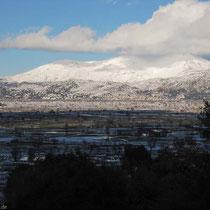 Blick auf das Selena-Gebirge