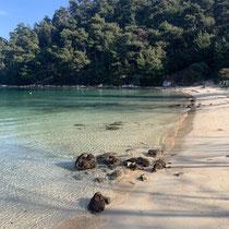 Der Strand ....