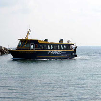 """Und da kommt sie, die """"Agistri Express""""."""