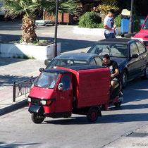 Beliebtes Verkehrsmittel....