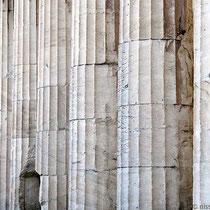 Dorische Säulen aus pentelischem Marmor