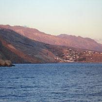 Kreta: Alpenglühen