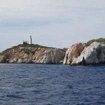Leuchtturm vor Skiathos