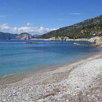 Der Strand von ....