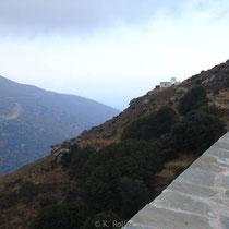 Andros: Bei Kloster Agios Nikoloas
