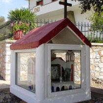 Kreta: Ikonostase in Anopolis