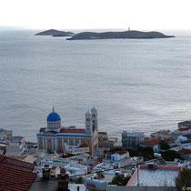 Agios Nikolaos und die vorgelagerten Inseln