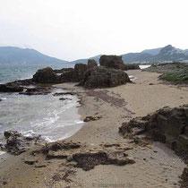 Am Strand von Vina
