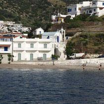 Strand von Fourni
