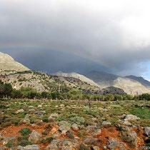 Regenbogen bei Patsianos
