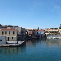 Der venezianische Hafen ...