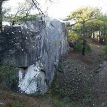 Antike Steinbruch