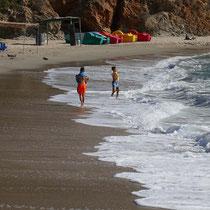 Der bewirtschaftetet Strand