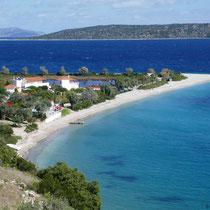 Blick auf Agios Dimitrios