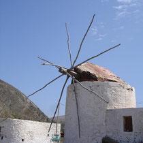 Karpathos: Mal wieder die Windmühlen