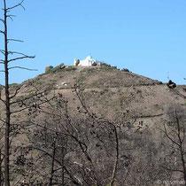 AnalipsiKapelle auf dem Hügel
