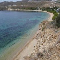 Der Strand von Livadakia