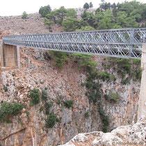 Die Brücke von Aradena
