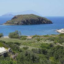 Blick nach Agios Andreas
